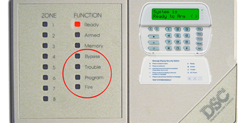 DSC Alarm Monitoring